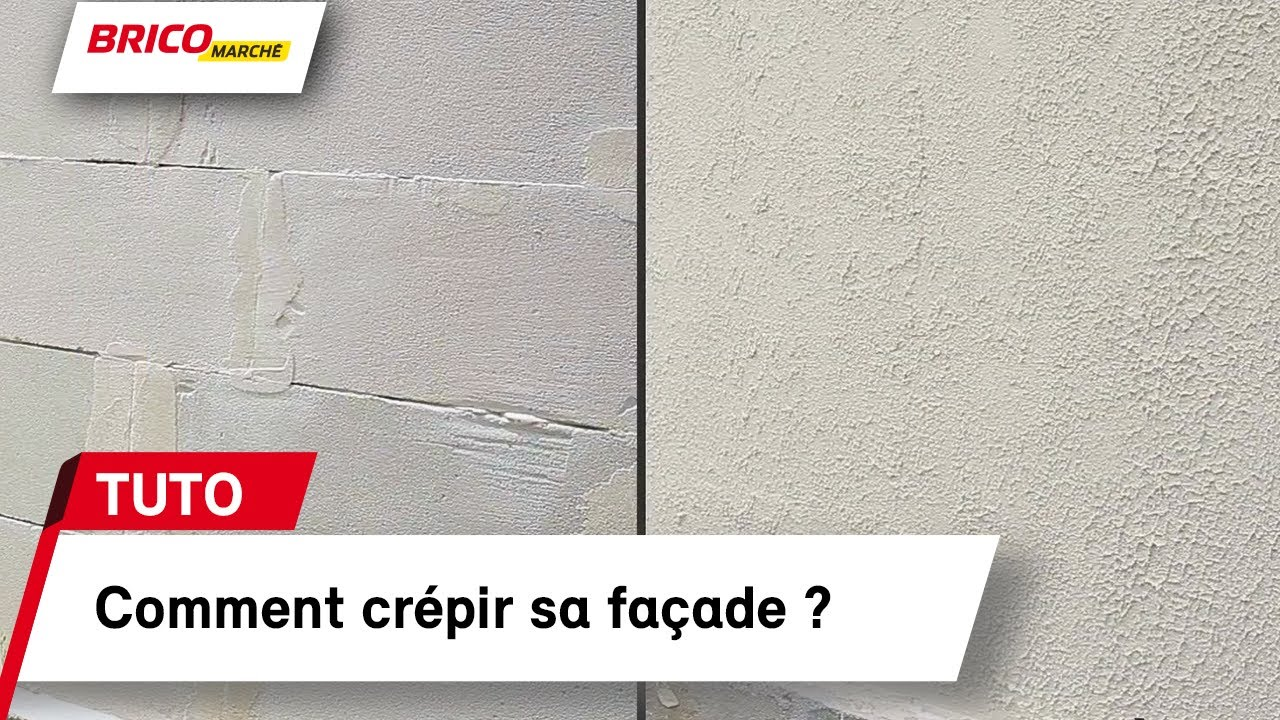 Comment Crepir Sa Facade Bricomarche Youtube