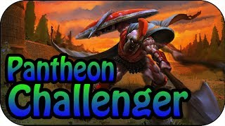 Challenger Gameplay - Pantheon Mitte vs Yasuo High Elo