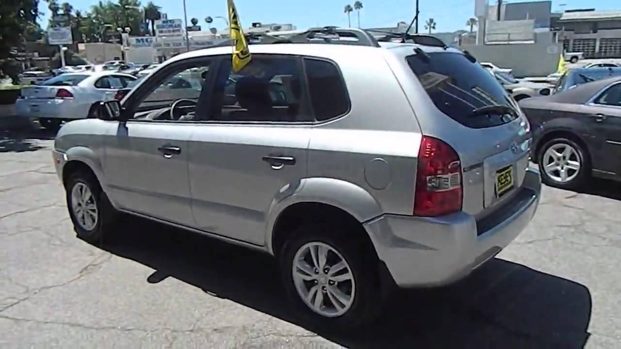 2009 Hyundai Tucson Gls Sport Utility 4d Los Angeles Ca