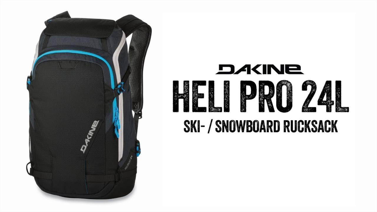 oszczędzać więcej zdjęć Data wydania: The Dakine Heli Pro 24 L Backpack - Topseller Pack for Ski, Snowboard &  Alpin