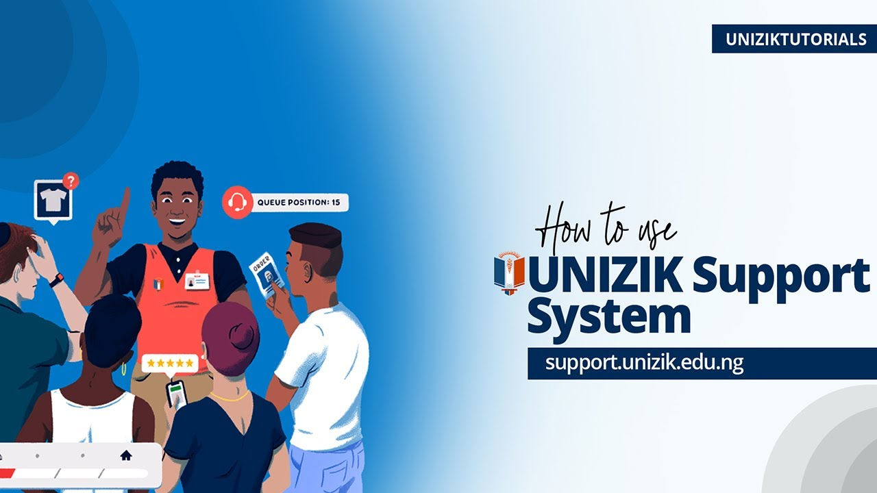 Download How to Use UNIZIK Support System