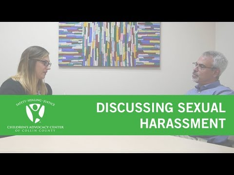 Discussing Sexual Harassment with Your Kids