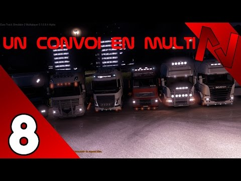 [Euro Truck Simulator 2 MP] Un convoi en multi #8 ft. Transport Nord Express