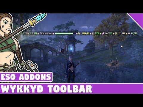 Wykkyd Toolbar (Info hub) | ESO Addon Spotlight | Elder Scrolls Online Best Addons