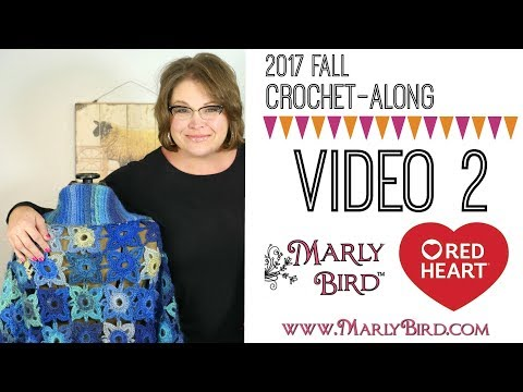 Crochet Along Motif And Join As You Go For Right Handed