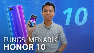 Honor 10 - Flagship Bajet Dengan Rekaan Menawan