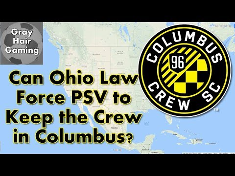 Will an Ohio Law #SaveTheCrew? Can the Ohio Attorney General Keep Columbus Crew in Columbus?