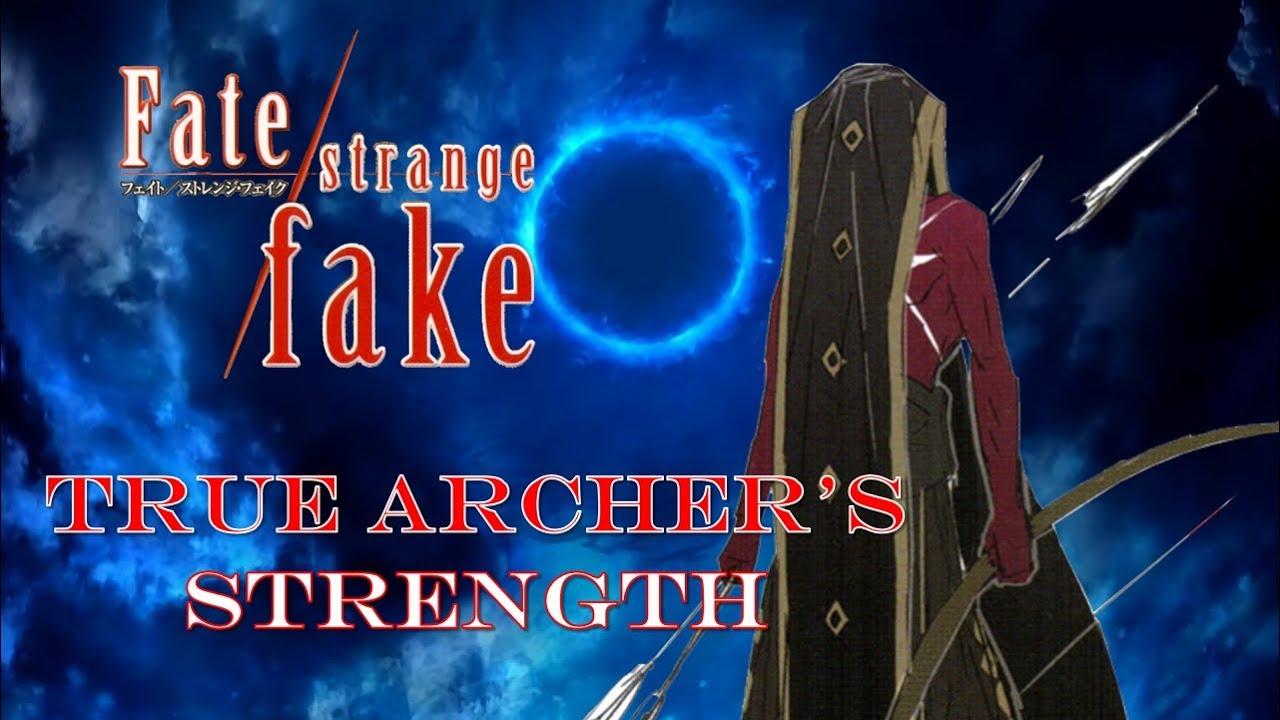 Fate Strange Fake A Servant That Surpasses Gilgamesh True Archer Hercules Power Breakdown Youtube