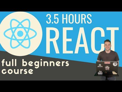 React js in 3.5 hours | Full beginners tutorial