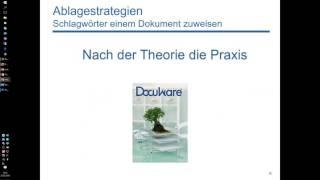 Dokumente verschlagworten: Tricks, Strategien und Automatismen