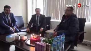 Vali Kahraman Engin'in Doğum Gününü Unutmadı