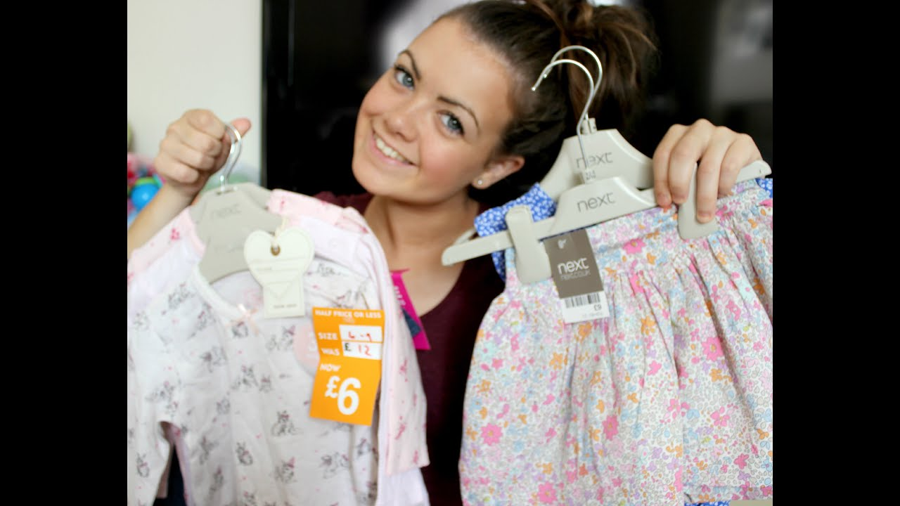 BABY CLOTHES HAUL - PRIMARK,NEXT SALES & MATALAN - YouTube