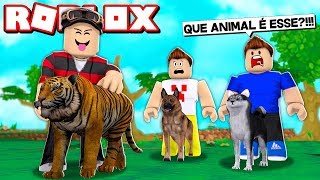 MY FRIEND ADOPTED A STRANGE ANIMAL IN ROBLOX