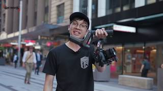 Zhiyun Weebill LAB First Hands On|By Georges CamerasTV
