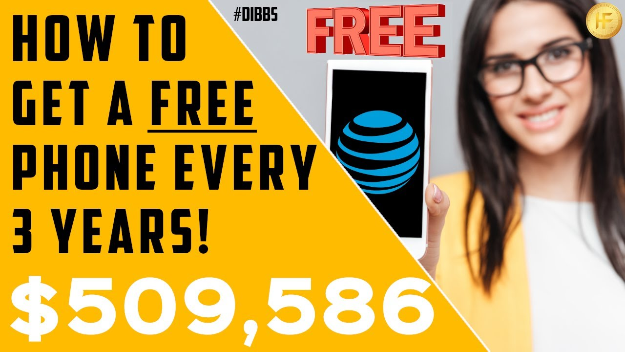 How To Get A FREE Phone Every 3 Years!   Power Of Dividend Income Investing