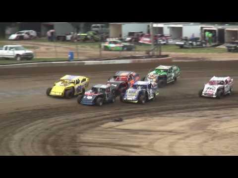 IMCA Sport Mod Heats Independence Motor Speedway 8/5/17