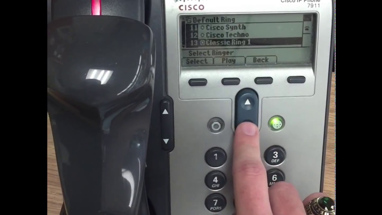 Cisco IP Phone Ringtones