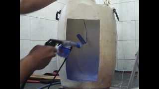pintura pó eletrostatica caseiro