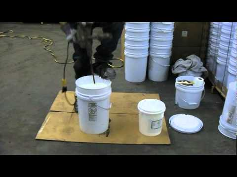 Application of EPOX-Z with Squeegee and Roller