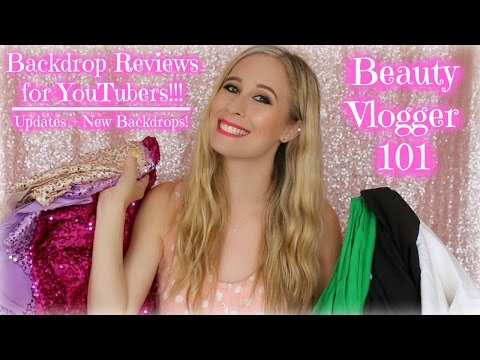 Backdrop Reviews for YouTubers | Updates + New Backdrops!