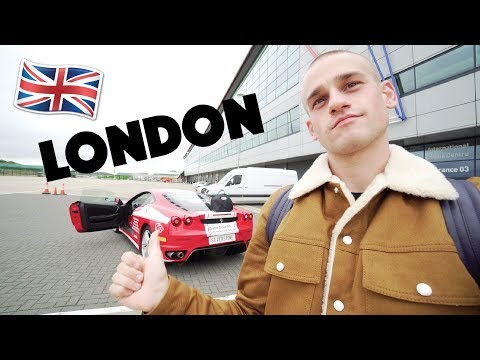 LONDON VLOG! Racing Ferrari's, the Berkeley Hotel, Another Missed Flight...