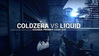 ELEAGUE PREMIER 2017: Coldzera vs Liquid