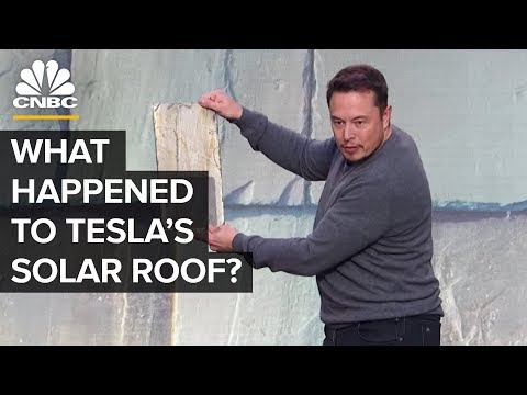 What Happened To Tesla\'s Solar Roof Tiles?