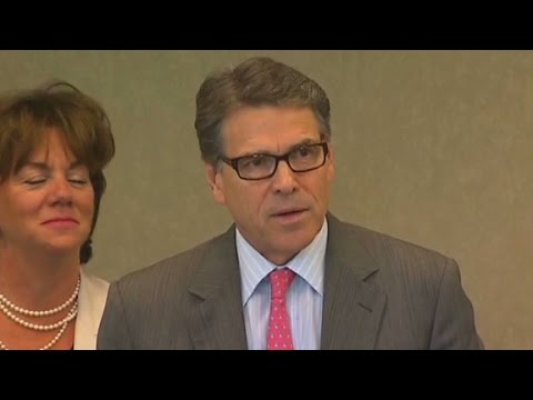Gov. Rick Perry weighs in on indictment case
