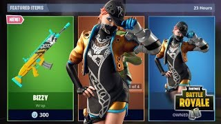 NOUVEAU BIZ SKIN IS AMAZING - BIZZY WEAPON WRAP NEW FORTNITE ITEM SHOP UPDATE