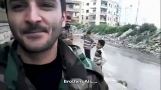 Syrian soldier in Aleppo ~The Truth and The Lies about Syria war