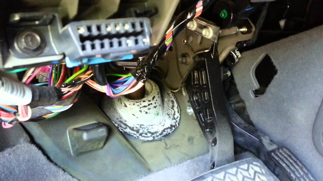 Chevy Blend Door Actuator Replacement  Part 1  YouTube