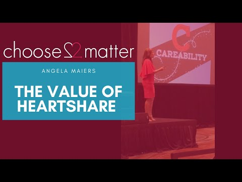 Angela Maiers explains the value of Heartshare: NGCX Conference ...