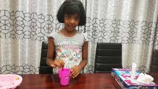 diviya c making slime