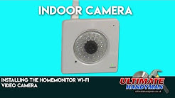 Installing the HomeMonitor Wi-Fi Video Camera | Indoor Camera