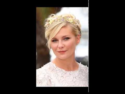 Wedding Hairstyle For Round Face 2017 - YouTube