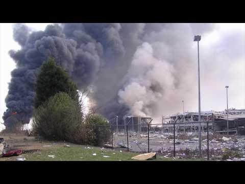 Buncefield Explosion - Eye Witness Account