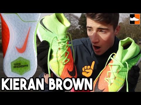 Nike's Best Indoor Shoe? HypervenomX with Kieran Brown!