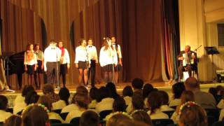 Festival horova Ruska pesma Beograd 2015   Skola Trnjane