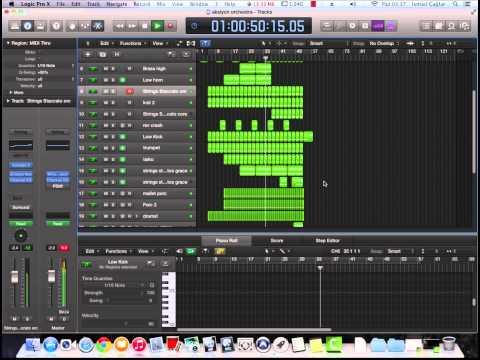 Logic Pro X - Epic Trailer Music