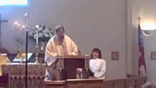 Annunciation, Bishop Sermon, Part One