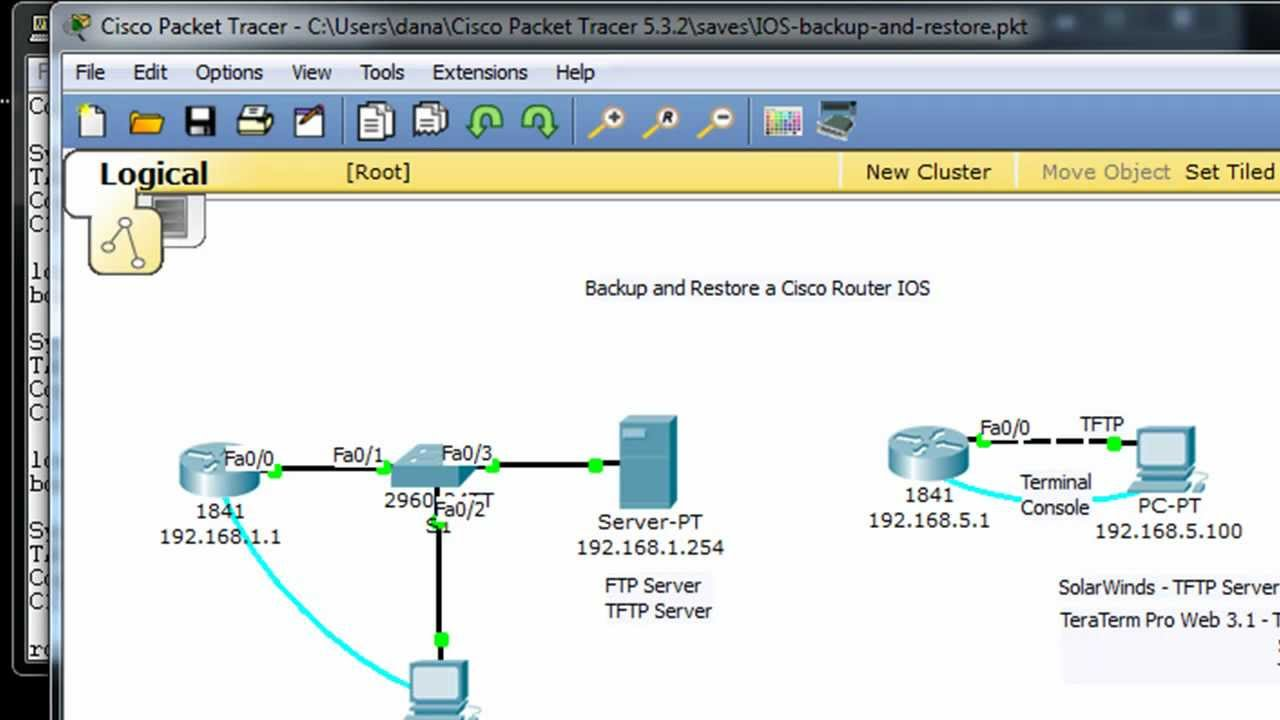 Restore a Cisco router IOS image using Xmodem or TFTP -part1