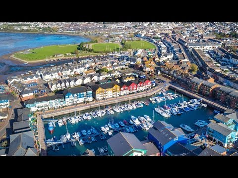 Presenter led property video - Exmouth Marina, Devon
