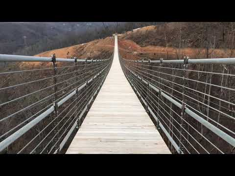 Ryan - The Long Pedestrian Bridge In The US Is OPEN....And Looks Terrifying!