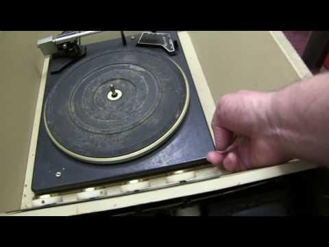 Garrard SP25 Mk3 and PYE G63 Vinyl Record Player. Repair and Service