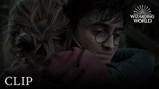 harry says goodbye to ron hermione harry potter and the deathly hallows pt 2
