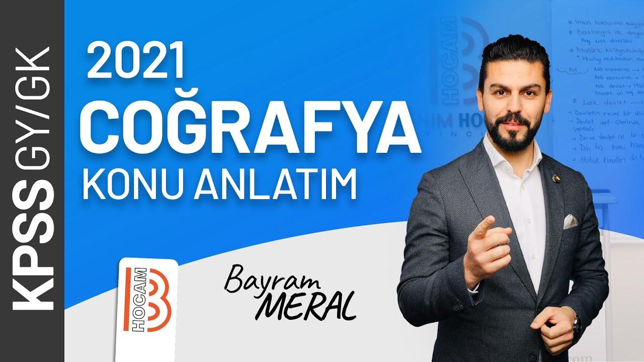 KPSS Coğrafya - Türkiye'de Bölgesel Kalkınma Projeleri - Bayram MERAL (2019)