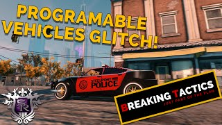 Saints Row 3 - Programmable Vehicles Glitch - Breaking Tactics - Ep.  5