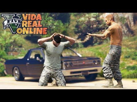 GTA V : VIDA REAL : ESTOU CORRENDO PERIGO, A VINGANÇA DO BR : EP. 51