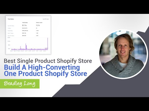 Best Single Product Shopify Store - Build a High-Converting One Product Shopify Store