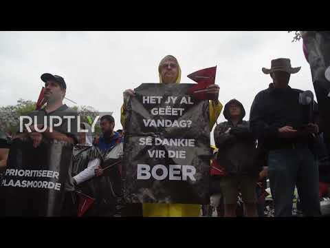 South Africa: Hundreds march over rural farm murders